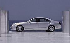 Обои автомобили Mercedes-Benz S500 - 2005