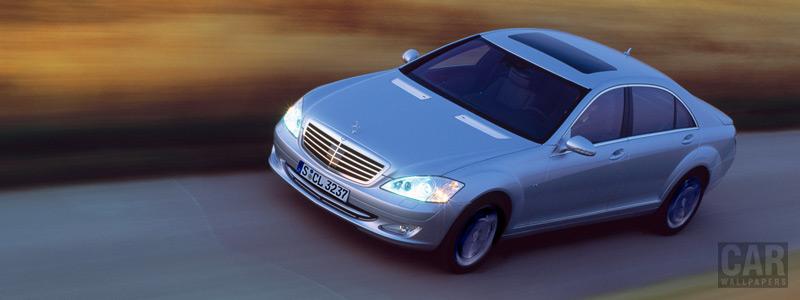 Обои автомобили Mercedes-Benz S600 - 2005 - Car wallpapers