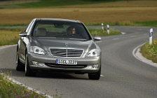 Обои автомобили Mercedes-Benz S600 - 2005