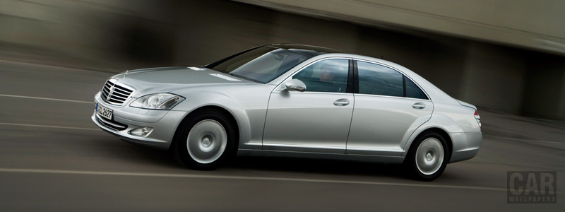 Обои автомобили Mercedes-Benz S500 4MATIC - 2006 - Car wallpapers