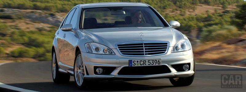 Обои автомобили Mercedes-Benz S63 AMG - 2006 - Car wallpapers