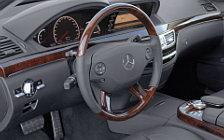 Обои автомобили Mercedes-Benz S63 AMG - 2006