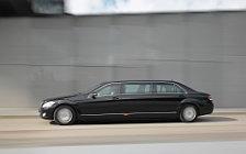 Обои автомобили Mercedes-Benz S600 Pullman Guard - 2008