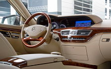 Обои автомобили Mercedes-Benz S350 BlueEFFICIENCY - 2010
