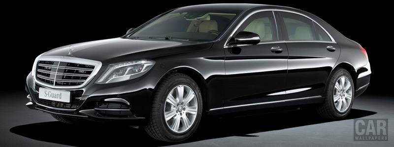 Обои автомобили Mercedes-Benz S600 Guard - 2014 - Car wallpapers