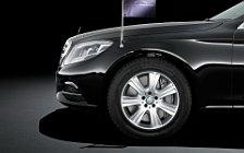 Обои автомобили Mercedes-Benz S600 Guard - 2014