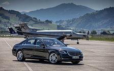 Обои автомобили Mercedes-Benz S 400 d 4MATIC - 2017