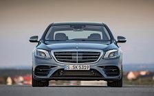 Обои автомобили Mercedes-Benz S 500 AMG Line - 2017