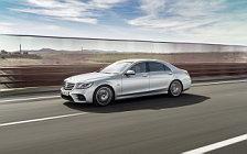 Обои автомобили Mercedes-Benz S 560 e AMG Line - 2017