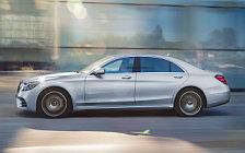 Обои автомобили Mercedes-Benz S-class AMG Line - 2017