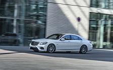 Обои автомобили Mercedes-Benz S 560 e AMG Line - 2018