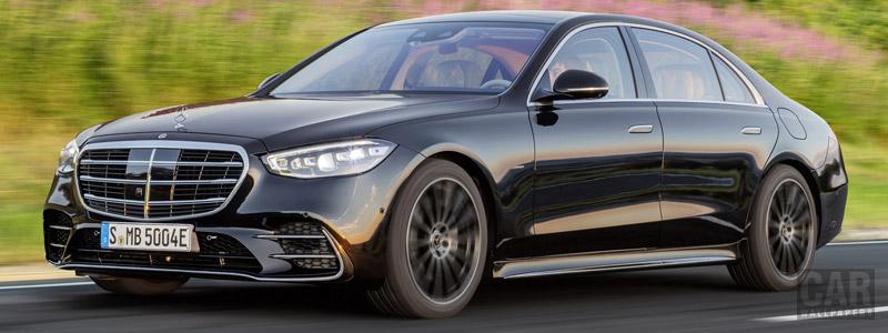 Обои автомобили Mercedes-Benz S 580 e AMG Line - 2020 - Car wallpapers