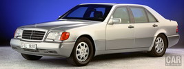 Mercedes-Benz S-class w140 special protection