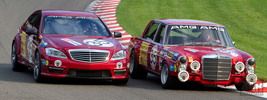 Mercedes-Benz S63 AMG Thirty-Five meets 300 SEL 6.8 AMG - 2010