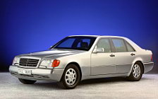 Обои автомобили Mercedes-Benz S-class w140 special protection