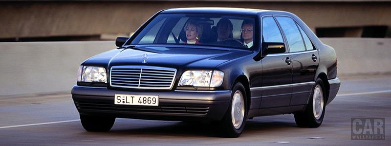 Обои автомобили Mercedes-Benz S-class w140 - Car wallpapers
