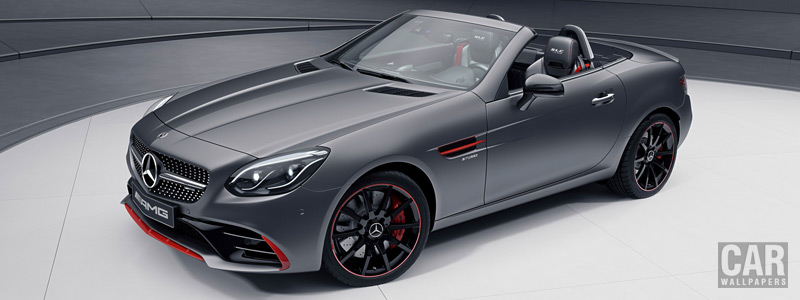 Обои автомобили Mercedes-AMG SLC 43 RedArt Edition - 2017 - Car wallpapers
