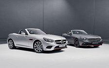 Обои автомобили Mercedes-Benz SLC-class RedArt Edition - 2017