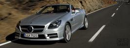 Mercedes-Benz SLK250 iridium silver - 2011