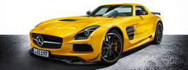 Mercedes-Benz SLS AMG Coupe Black Series Solarbeam - 2012