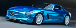 Mercedes-Benz SLS AMG Coupe Electric Drive - 2012