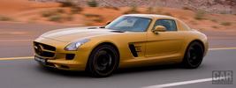 Mercedes-Benz SLS AMG Desert Gold - 2010