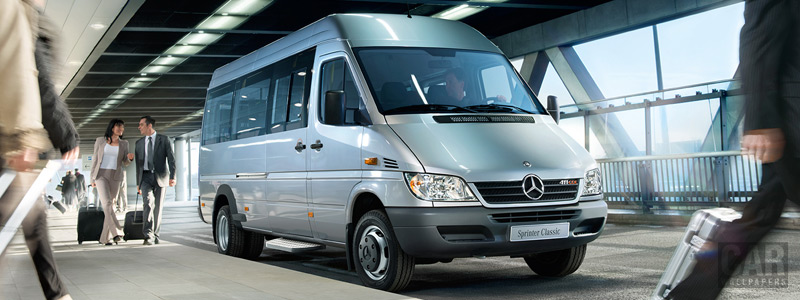 Обои автомобили Mercedes-Benz Sprinter Classic Crew Bus - 2013 - Car wallpapers