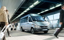 Обои автомобили Mercedes-Benz Sprinter Classic Crew Bus - 2013
