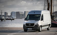 Обои автомобили Mercedes-Benz Sprinter 319 CDI Panel Van - 2018