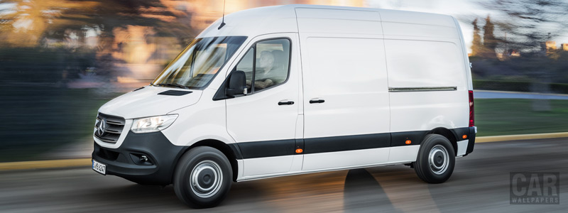 Обои автомобили Mercedes-Benz Sprinter Panel Van - 2018 - Car wallpapers