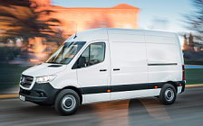 Обои автомобили Mercedes-Benz Sprinter Panel Van - 2018