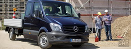 Mercedes-Benz Sprinter Double Cab Flatbed - 2013